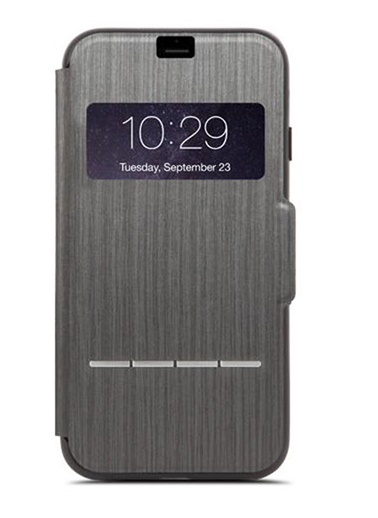 SenseCover iPhone 8 / 7 Kömür Siyahı Telefon Kılıfı-Moshi